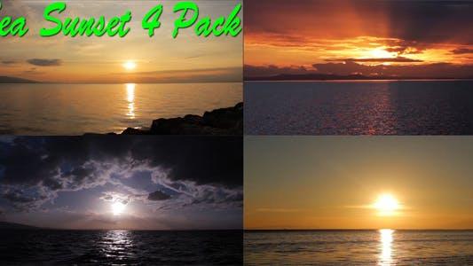 Thumbnail for Sea Sunset 4 Pack