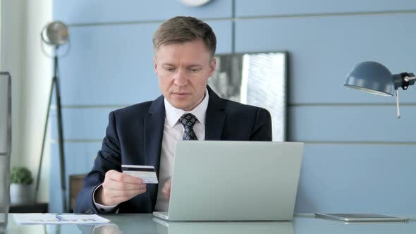 Thumbnail for Online Payment By Businessman