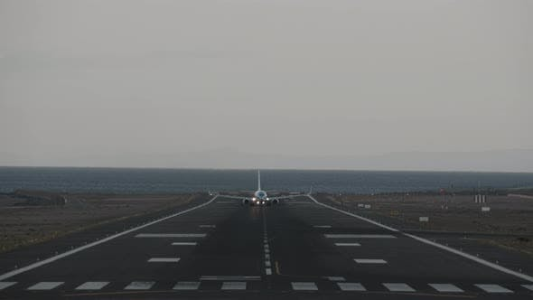 Thumbnail for A Taking Off Aircraft