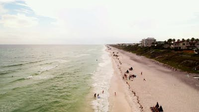 Tourism On Santa Rosa Beach Seaside Fl