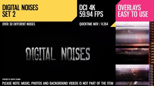 Thumbnail for Digital Noises (4K Set 2)