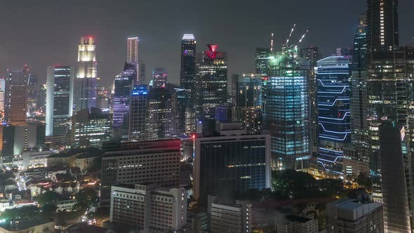 Cover Image for City Night Skyline