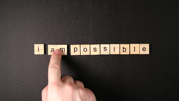 "Thumbnail for Changing Words ""Impossible"" To ""I'm Possible"""