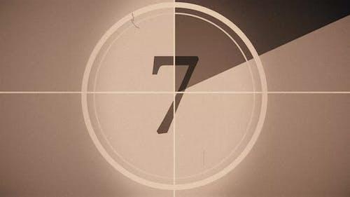 Retro Cinema Countdown 4K