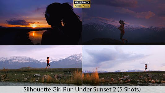 Thumbnail for Running At Sunset