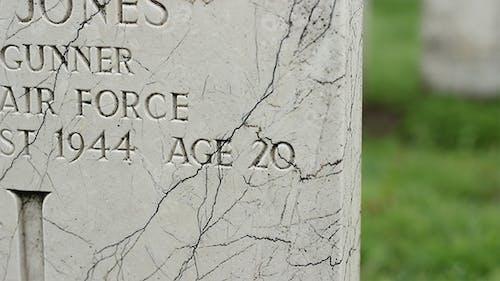 WWII Tombstones
