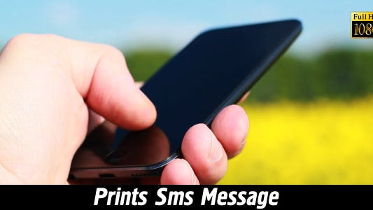 Cover Image for Prints SMS Message 4