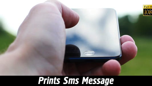 Thumbnail for Prints SMS Message 5