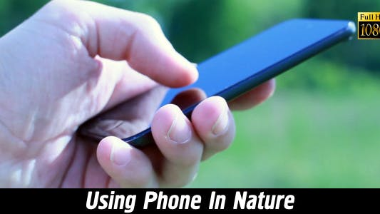 Thumbnail for Using Phone In Nature 2