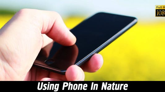 Thumbnail for Using Phone In Nature 3