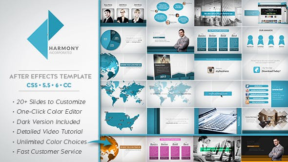 Thumbnail for Harmony Corporate Business Package