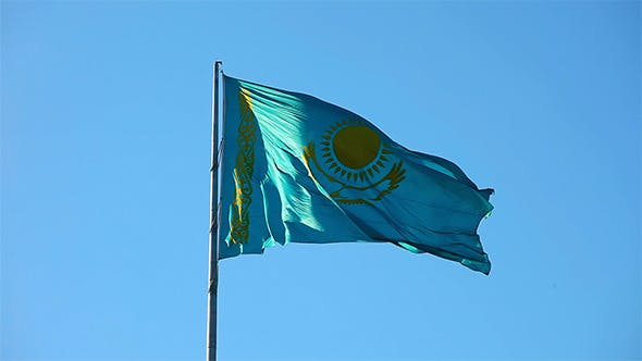 Thumbnail for Flag of Kazakhstan