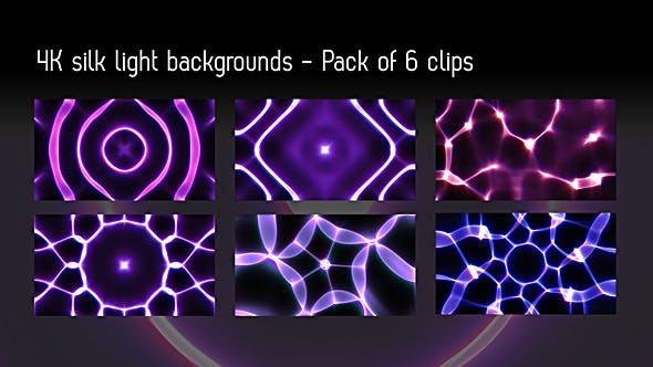 Silk Light Background #2 - Pack Of 6 Videos