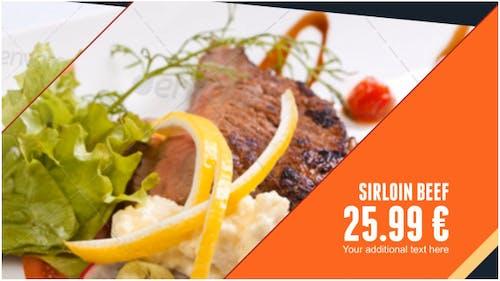 Restaurant Dishes Slideshow