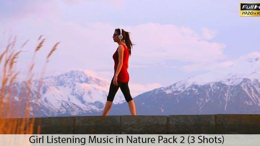 Cover Image for Girl Listening Music