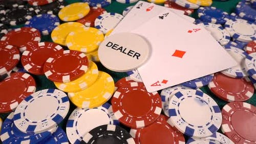 Gambling Money Chips And Poker Cards 5