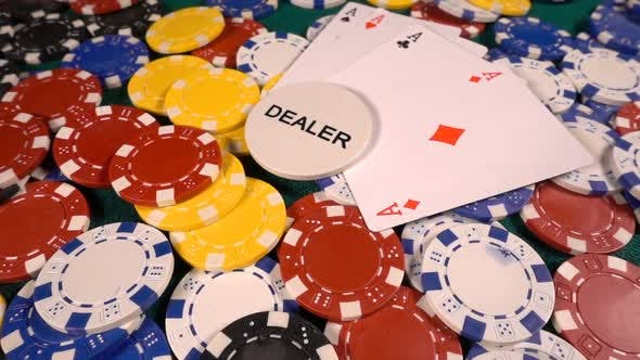 Thumbnail for Gambling Money Chips And Poker Cards 5