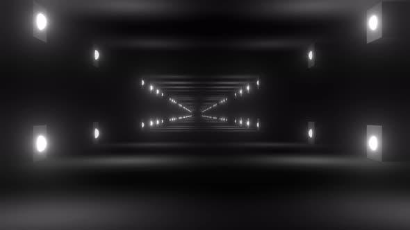 Thumbnail for Light Corridor Loop  4k