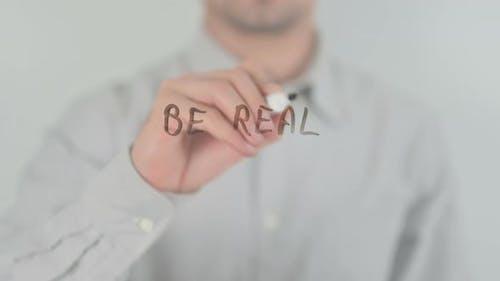 Sei echt