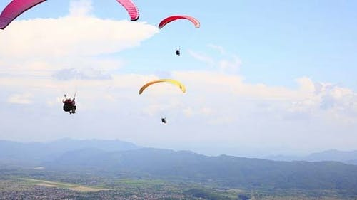 Paraglide In The Sky 10