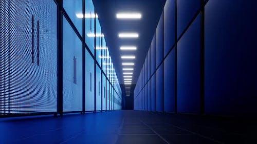 Artificial Intelligence Data Center Technology Vr Global Communication Network Concept Digital Data