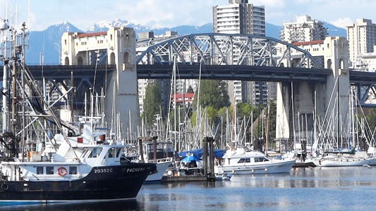 Cover Image for Vancouver - Burrard Bridge - I