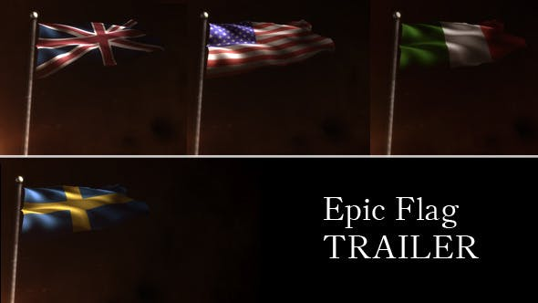 Epic Flag Trailer