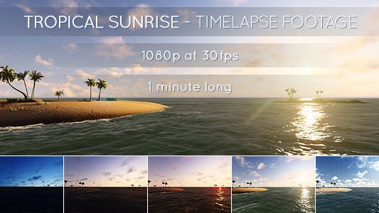 Thumbnail for Tropical Sunrise