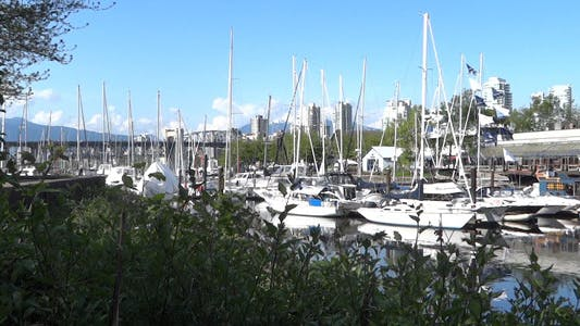 Thumbnail for Vancouver - Granville Island Harbor - 01