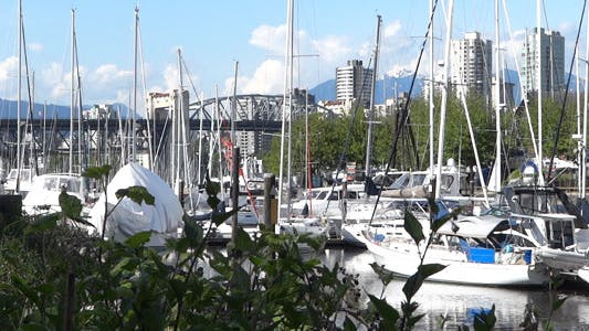 Thumbnail for Vancouver - Granville Island Harbor - 02