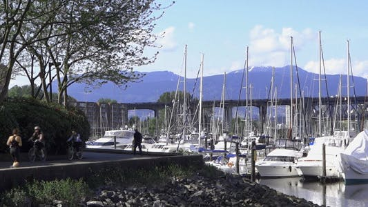 Thumbnail for Vancouver - Granville Island Harbor - 03