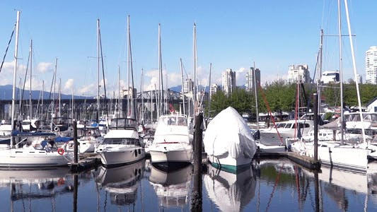 Thumbnail for Vancouver - Granville Island Harbor - 04