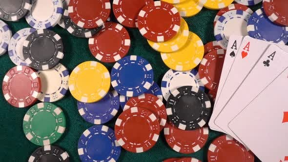 Thumbnail for Gambling Money Chips And Poker Cards 1