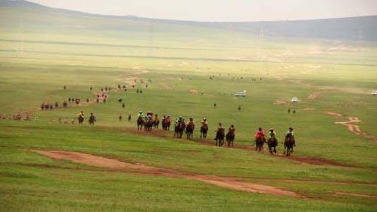 Thumbnail for Naadam Festival, Horse Race, Mongolia 2