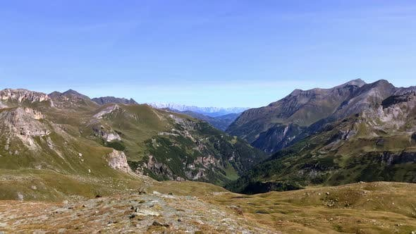 Awesome Landscape of the Grossglockner Mountains in Austria