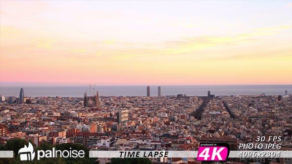 Thumbnail for CityScape Barcelona Skyline