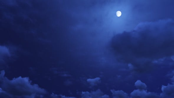 Thumbnail for Moon And Clouds