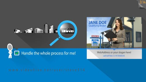 Real Estate Advert / Realtors Promo