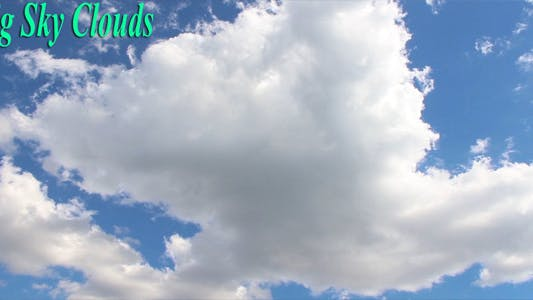 Thumbnail for Big Sky Clouds