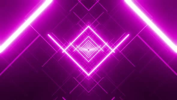 Cover Image for 7 Pink Geometric Vj Pack