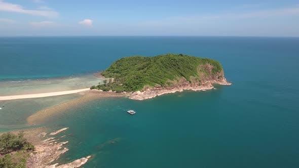 Thumbnail for Island at Tropical Sea