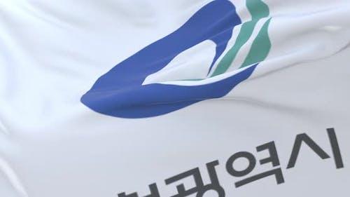 Incheon Flag, South Korea