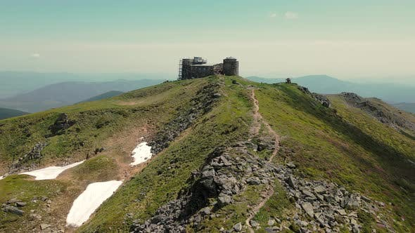 Observatory on Top of Mount Pip Ivan