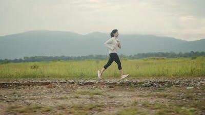 Athlete sport running workout concept.