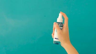 Hand Sprays a Sanitizer