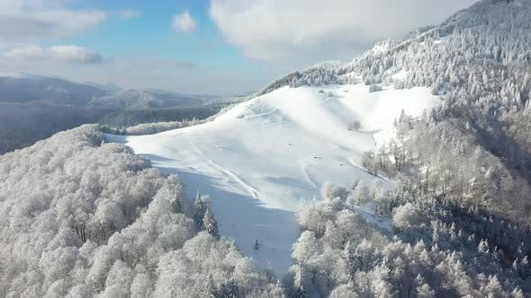 Winter Season Aerial