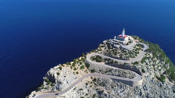 Thumbnail for Far Formentor Lighthouse at Mallorca, Spain
