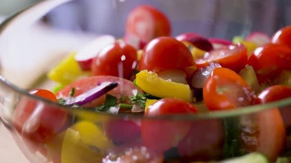 Thumbnail for Fresh Vegetable Salad Seasoning with Sea Salt