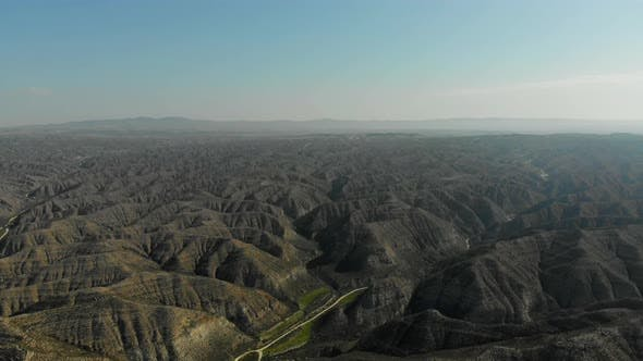 Thumbnail for Beautiful Aerial View of the Halayeb Mountain Range in Egypt