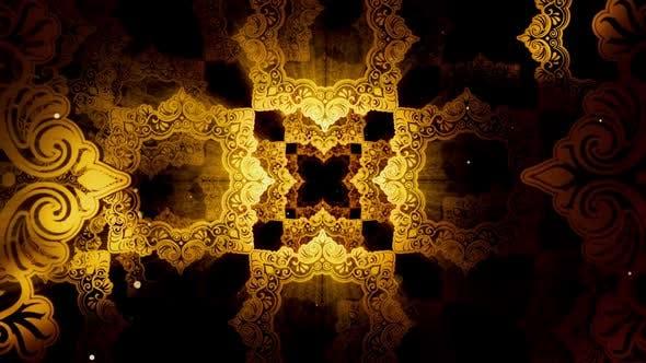 Thumbnail for Vintage Islamic Pattern 03 HD